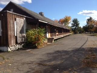 The Bloomfield Farmer's Exchange has been placed on the town's list of blighted properties.