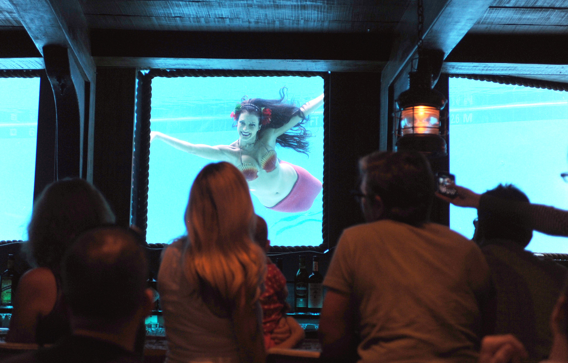 Things every South Floridian should do once - The mermaid show at The Wreck Bar