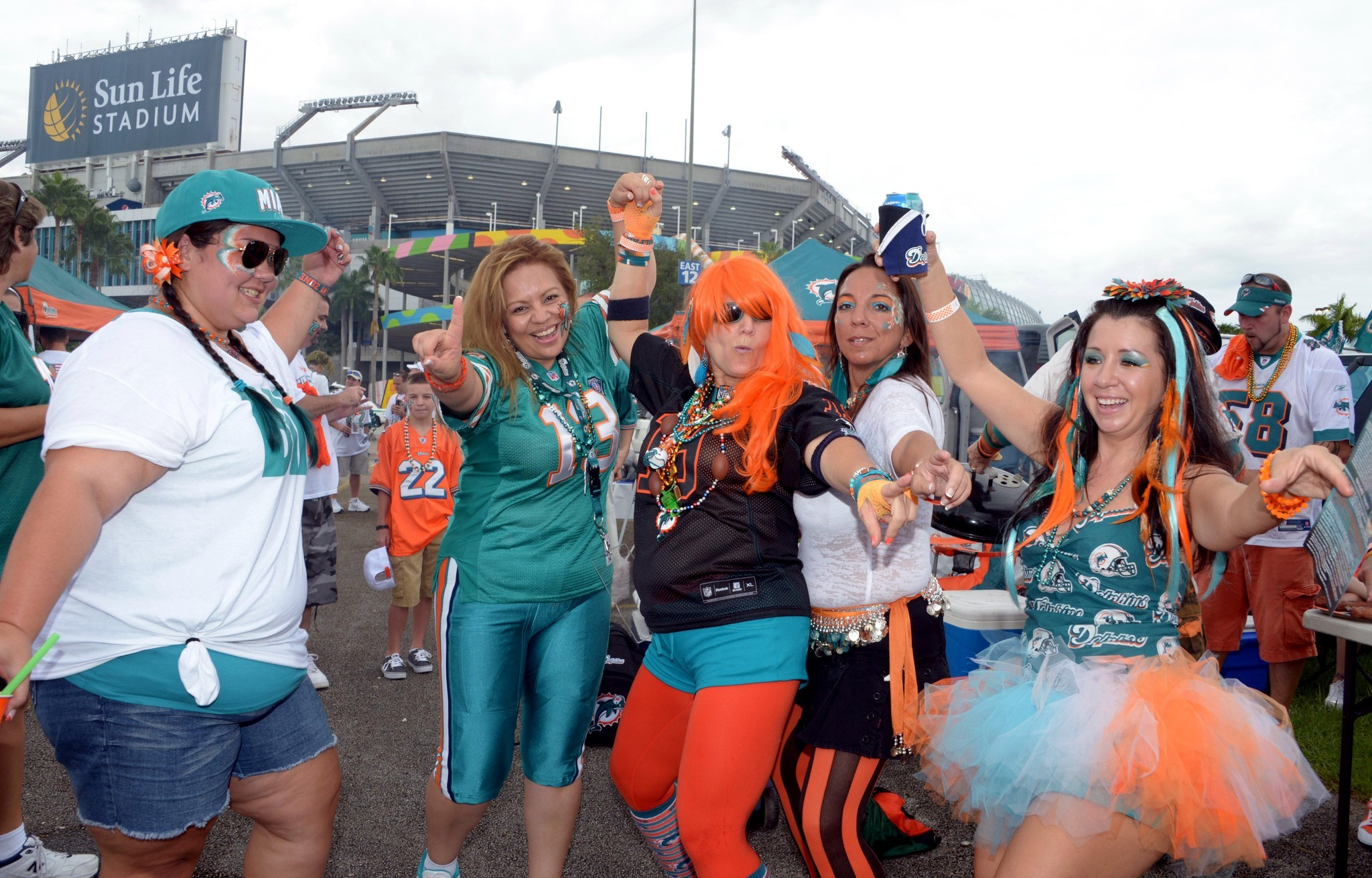 Things every South Floridian should do once - Tailgate at a Miami Dolphins game