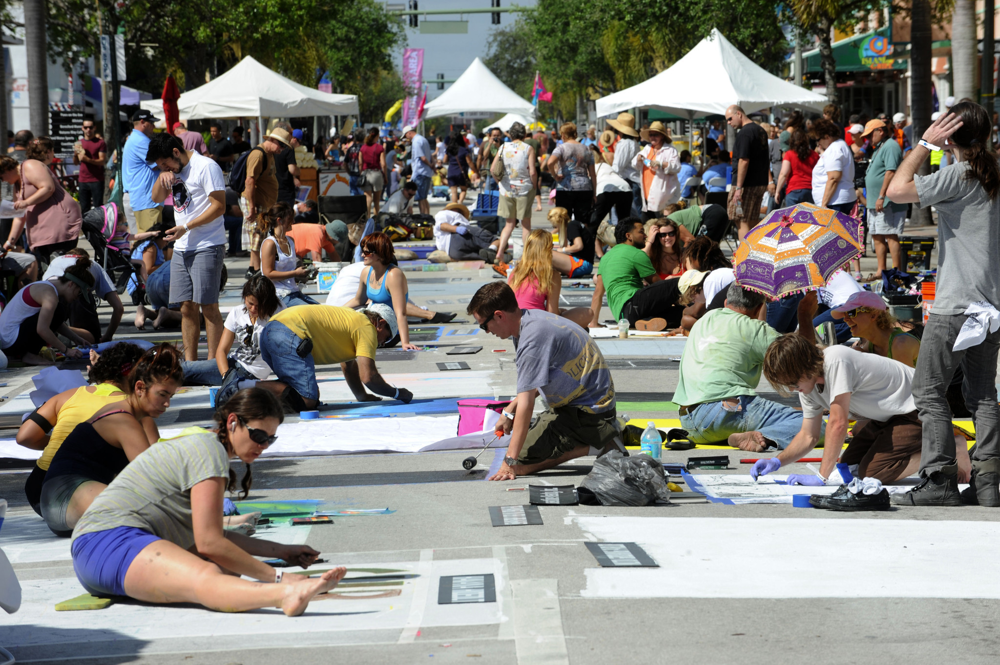 Things every South Floridian should do once - Street Painting Festival