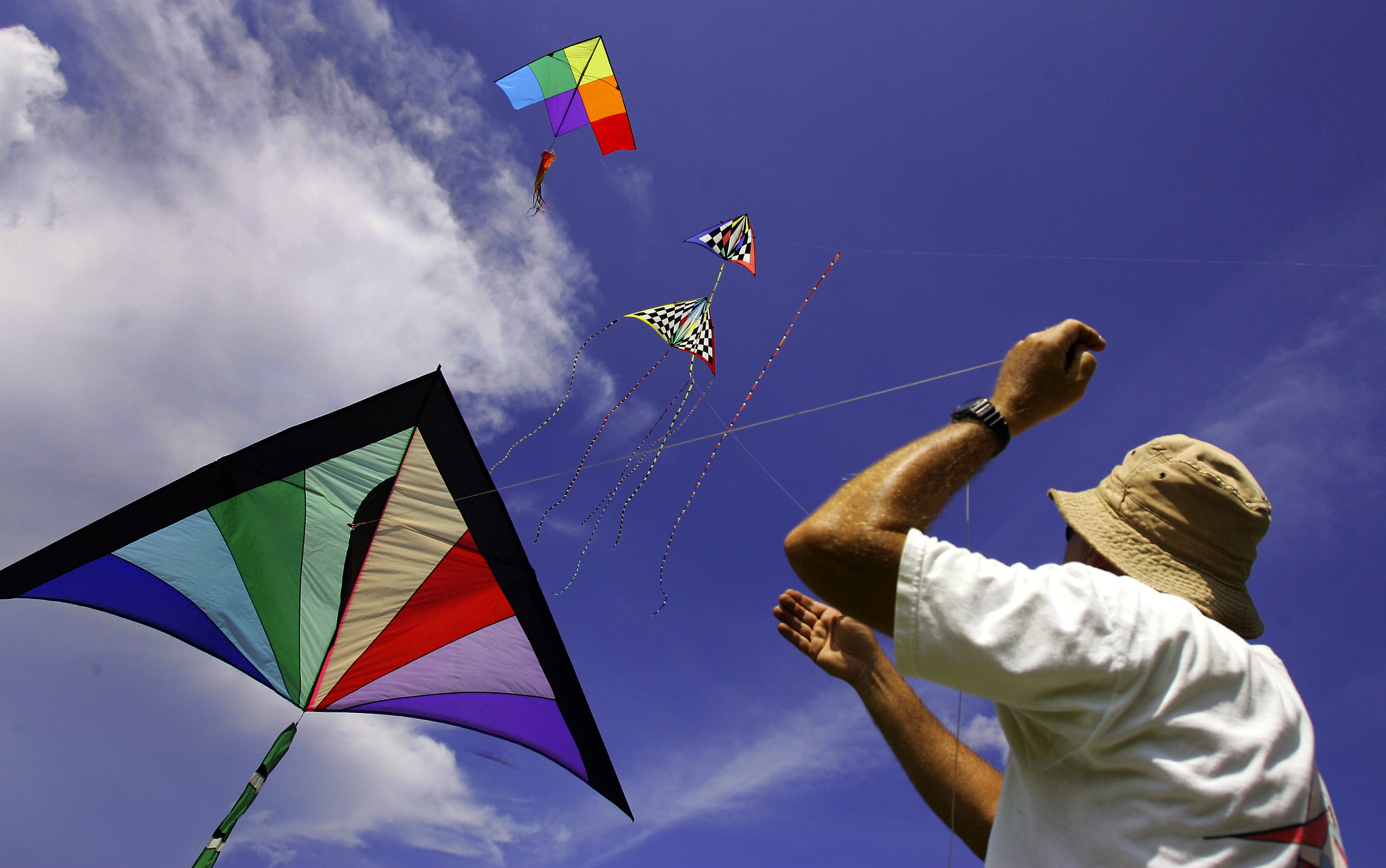 Things every South Floridian should do once - Fly a kite at Haulover Park