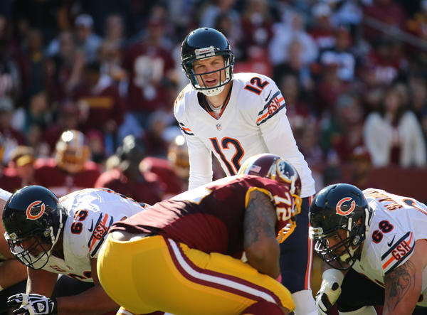The Bears now turn to Josh McCown to quarterback their offense with Jay Cutler on the shelf for at least four weeks.