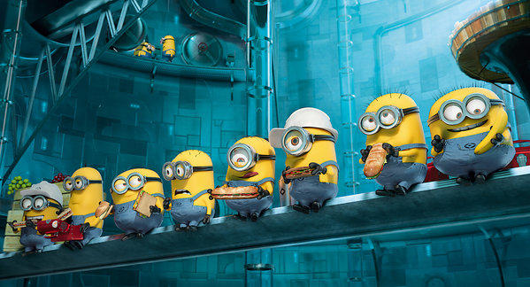 "A scene from this summer's movie ""Despicable Me 2"" from Universal Pictures and Illumination Entertainment."
