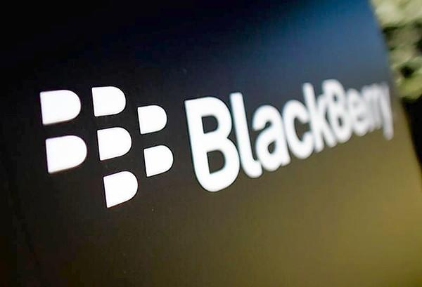 A Blackberry logo is seen at the Blackberry campus in Waterloo.