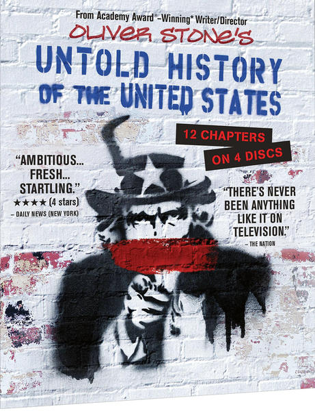 "Oliver Stone's ""Untold History of the United States"" is out on Blu-ray and DVD."