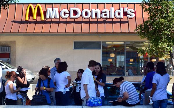McDonald's has the biggest number of new job openings in Los Angeles, according to SimplyHired.com.