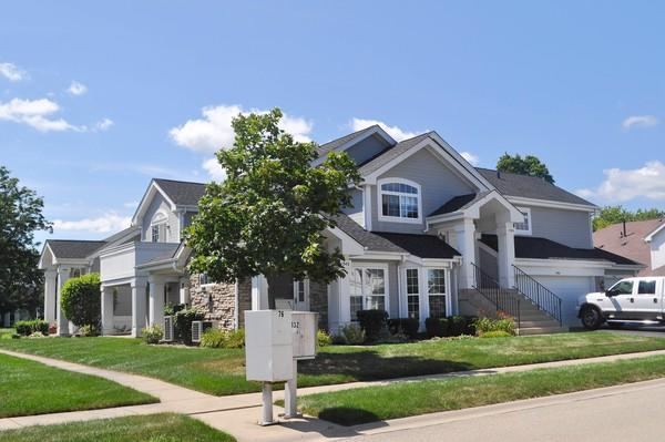 "The ""Homes for a Changing Region"" study includes various kinds of housing communities could build to meet a forecasted increase in Tri-Cities households by 2040. A quad in Batavia's Georgetown neighborhood, pictured above, is an example of an energy efficient housing option that is more affordable than single family homes and less compact than apartments, according to Brett Hanlon, land use planner for Kane County."