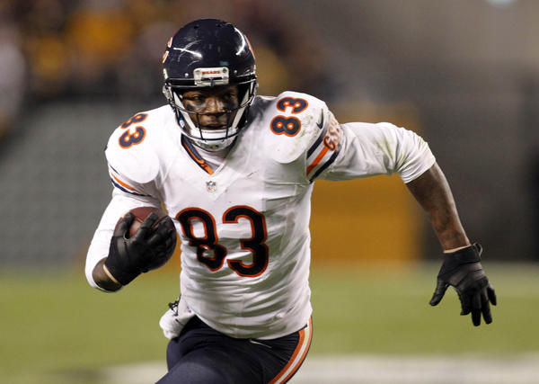 Bears tight end Martellus Bennett will have to help pick up the slack with quarterback Jay Cutler injured.