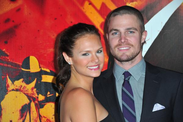 Stephen Amell has a baby girl