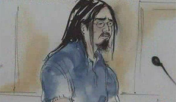 A courtroom sketch of Sinh Vinh Ngo Nguyen.