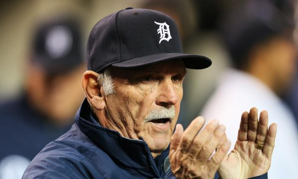 Jim Leyland announced Monday he is stepping down as the manager of the Detroit Tigers.