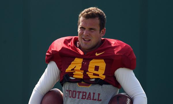 USC kicker Andre Heidari missed field-goal attempts of 40 and 46 yards in the Trojans' loss to Notre Dame on Saturday.
