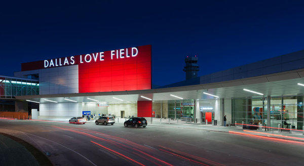 A federal law that restricts flights from Love Field, Southwest Airlines' home base, is set to expire in October.