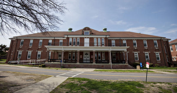 The Salvation Army previously sheltered 60 homeless veterans in its transitional housing program in this Civil War-era building at the Hampton VA Medical Center. The building was found to need major renovations. The Hampton City Council on Oct. 9 denied a permit for the program to move to an extended-stay hotel.