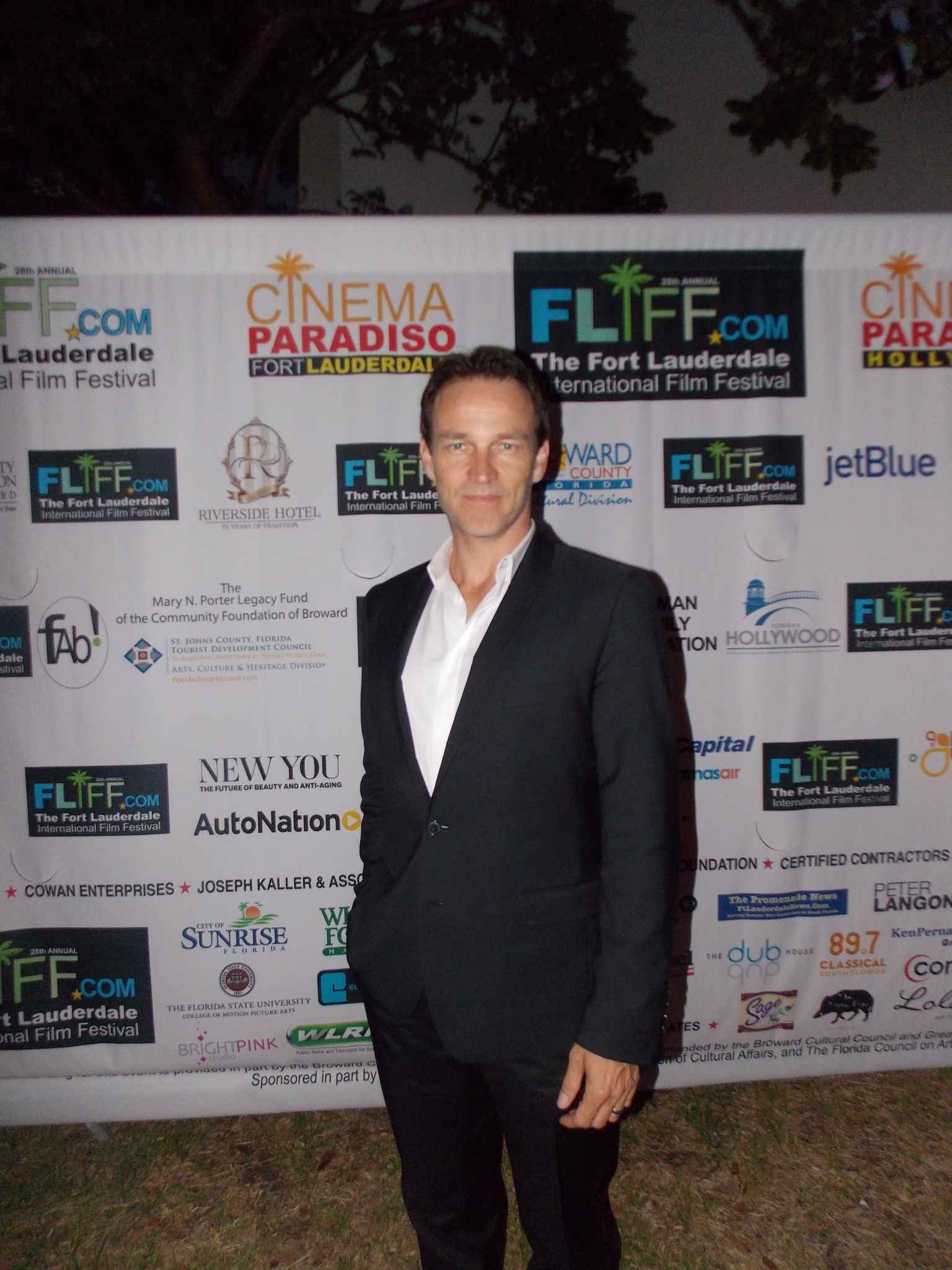 FLIFF opening night - Stephen Moyer