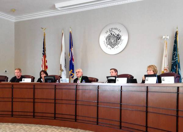 Members of the St. Charles Liquor Control Commission discussed drafted language concerning a new late-night permit for some liquor license holders at their meeting Monday evening.