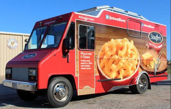 The Stouffer's Mac 'N' Cheese Food Truck is coming to Chicago! The truck will be at the corner of Fairbanks and Ohio on Wednesday, Oct. 23 and Franklin and Couch on Thursday, Oct. 24.
