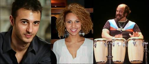 "Pianist Gregg Kallor, vocalist Alita Moses and percussionist Rob Gottfried perform as special guests at 7:30 p.m. Saturday, Oct. 26, at the 10th annual ""Celebrating Gifts of Music Benefit Concert"" at the Ellen Jeanne Goldfarb Memorial Auditorium at the Intensive Education Academy, 840 N. Main St., West Hartford."