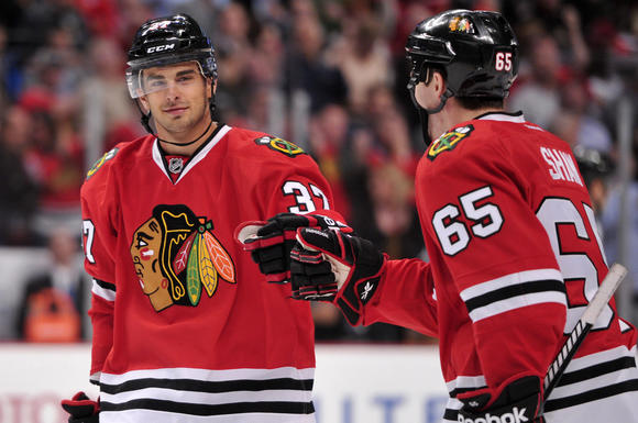Brandon Pirri and Andrew Shaw