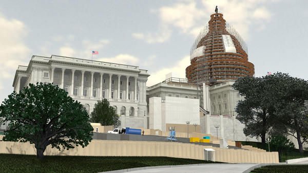 U.S. Capitol renovations