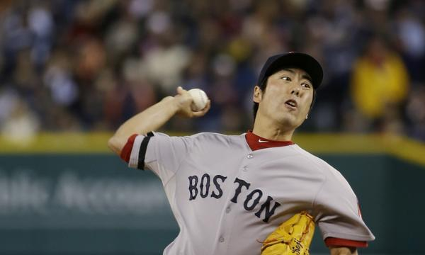 Dodgers catcher A.J. Ellis says the game is over once Boston Red Sox closer Koji Uehara takes the mound.
