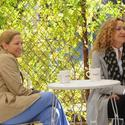 Edie Falco and Julie White