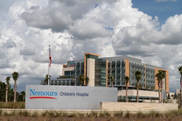 Nemours Children's Hospital.