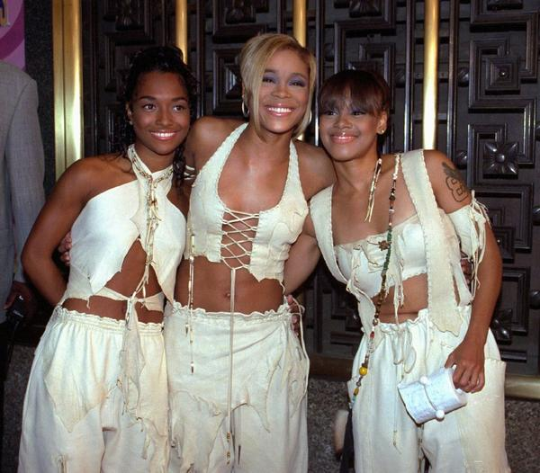 """VH1 saw high ratings for its biopic about TLC, made up of Rozonda """"Chilli"""" Thomas, left, Tionne """"T-Boz"""" Watkins and Lisa """"Left Eye"""" Lopes."""