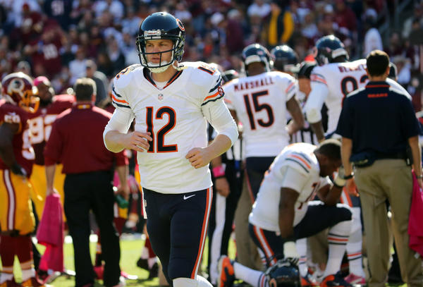 Josh McCown will be the man while Jay Cutler is out with an injury.