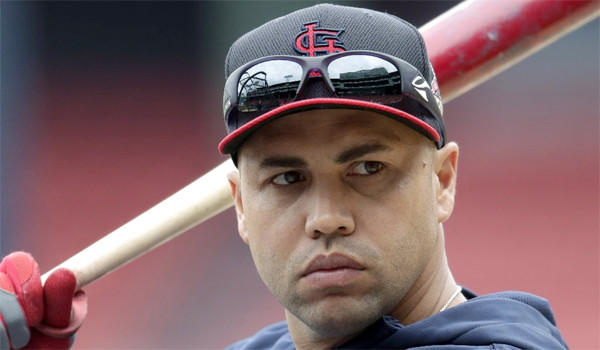 Cardinals outfielder Carlos Beltran will make his first World Series appearance of his 16-year career when St. Louis takes the field in Boston to take on the Red Sox on Wednesday.