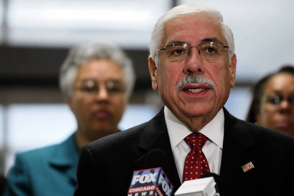 Cook County Assessor Joe Berrios