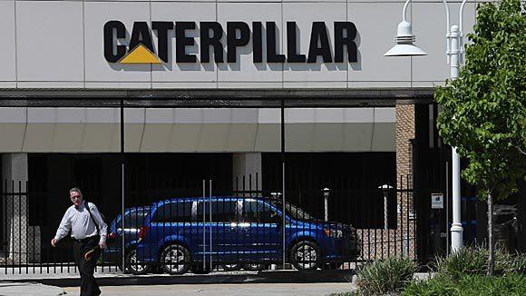 The Caterpillar plant in South Milwaukee.