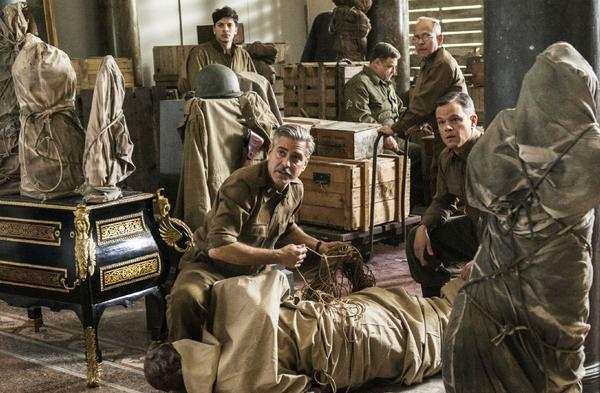 """The Monuments Men,"" starring George Clooney and Matt Damon, has been delayed to 2014."