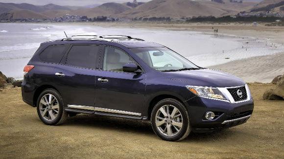 A 2013 Nissan Pathfinder