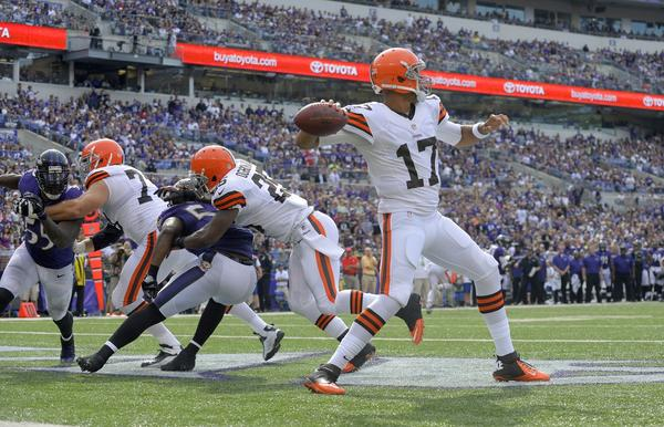 Cleveland quarterback Jason Campbell will get his first start of the year Sunday against Kansas City.