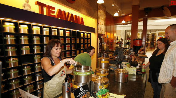 A Teavana store in Woodfield Mall in a 2006 file photo.