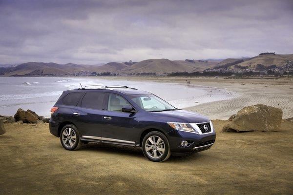 Nissan is recalling its Pathfinder, seen here, the 2013 Infiniti JX35 and the 2014 Infiniti QX60 for an issue with the ABS software.