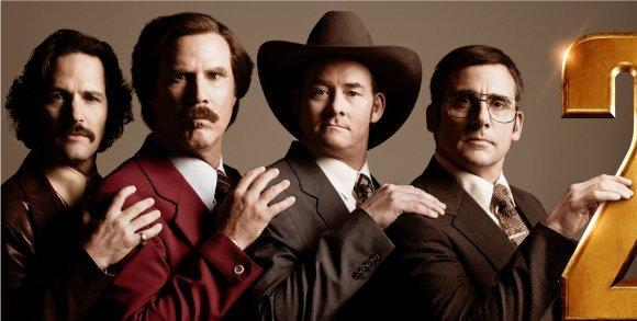 "A new trailer for ""Anchorman 2"" debuted online Wednesday"