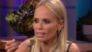 Kristin Chenoweth nearly blows chunks on Jay Leno