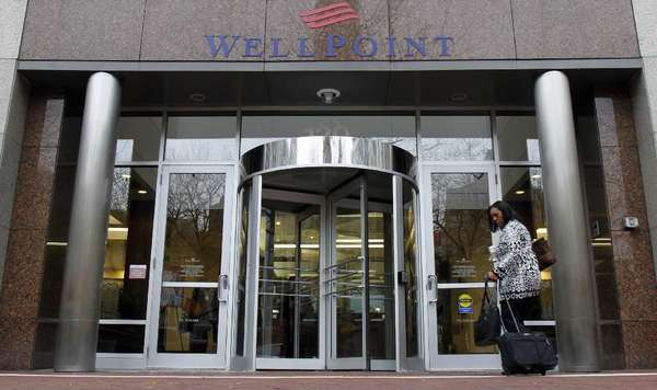 The chief executive of WellPoint Inc. and other insurance industry executives are meeting with White House officials Wednesday about the rollout of the federal healthcare law.