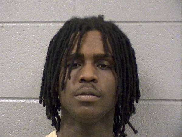 Keith Cozart, known as the rap artist Chief Keef, was sentenced to 20 days in Cook County Jail this morning after testing positive for marijuana, officials said.