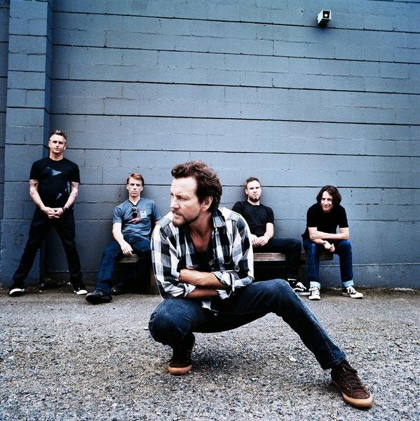 """Pearl Jam's latest album, """"Lightning Bolt,"""" entered the Billboard 200 this week at No. 1."""