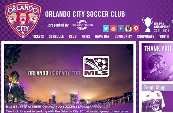 The Orlando City Soccer Club says it's ready for a shot at MLS.