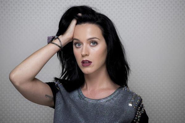 """Katy Perry is photographed in advance of the debut of her new album """"Prism,"""" at Capitol Records in Hollywood, Sept. 19, 2013."""