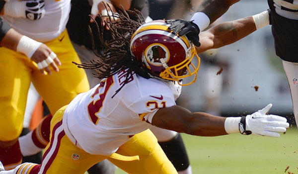 Washington safety Brandon Meriweather has been suspended one game by the NFL for repeated violations to the league's rules on helmet-to-helmet hits.