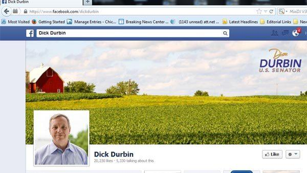 Dick Durbin's Facebook page.