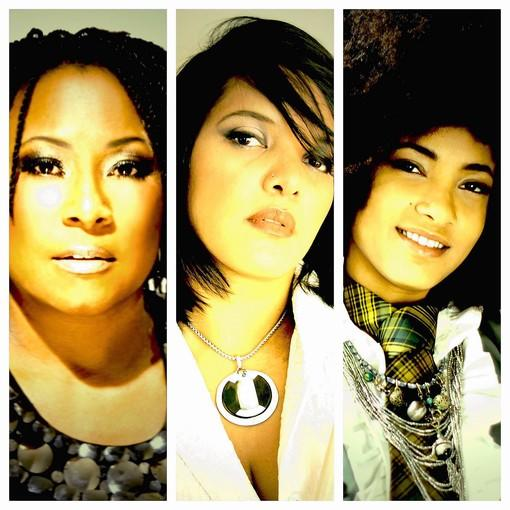 Jazz artists Geri Allen, Terri Lyne Carrington and Esperanza Spalding, left to right, make up ACS, which performs at the Samueli Theater on Friday and Saturday.