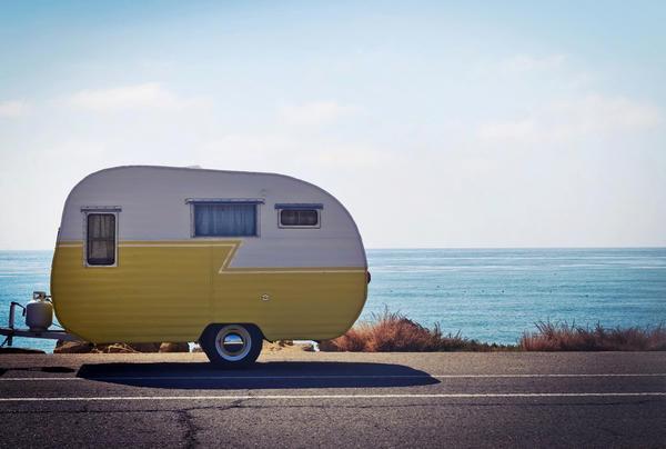 Rest stop in Ventura.