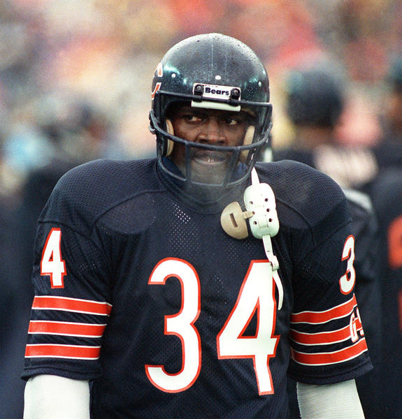 Don't let this gruff exterior fool you. Walter Payton was the ultimate prankster.