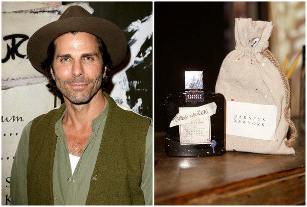 Artist and fashion designer Greg Lauren at the party celebrating the launch of his first fragrance, a collaboration with Barneys New York.